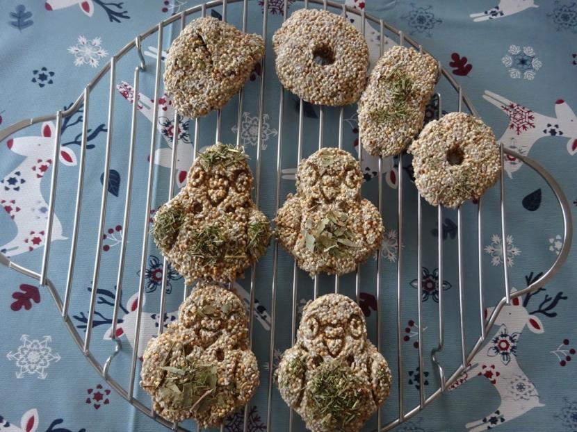 Kekse auf Gitter