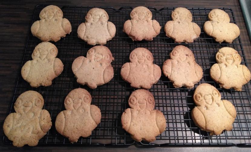 Kekse in Wellensittichform