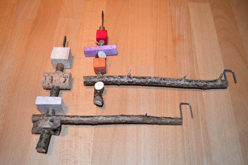 fertige Naturholzschaukeln