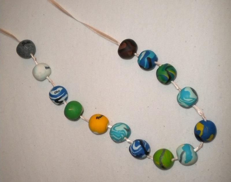 gedenk perlenkette