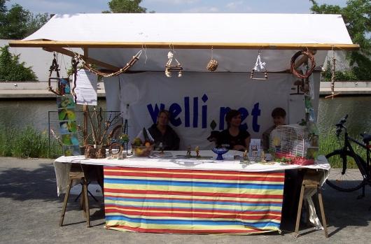 Infostand Berlin Mai 2011