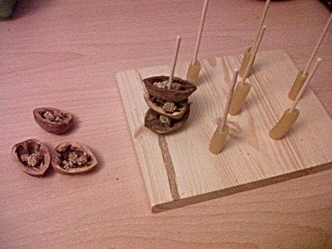 Spielzeug Wellensittiche basteln