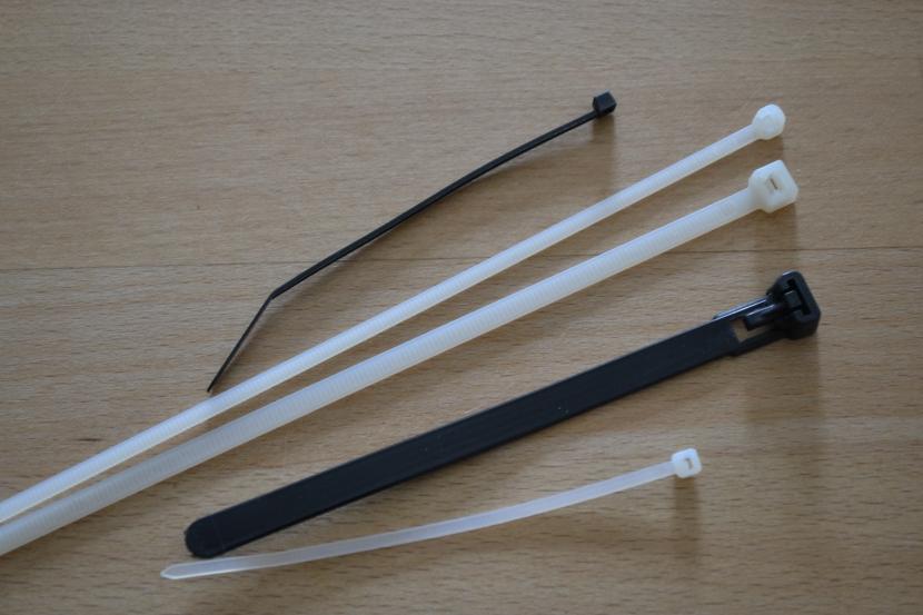 verschiedene Kabelbinder