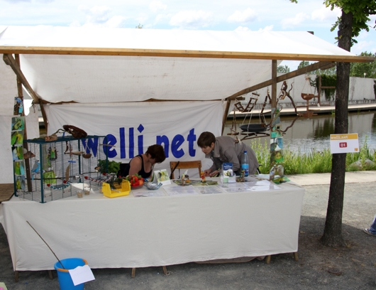 Welli.net Infostand im Tierheim Berlin