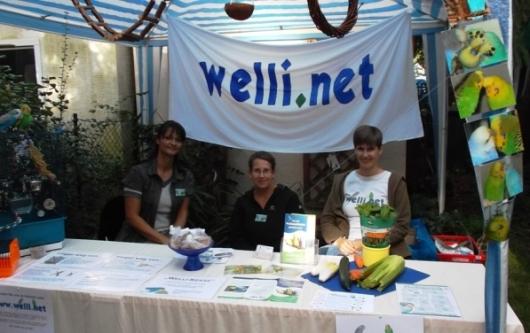 Welli.net Infostand