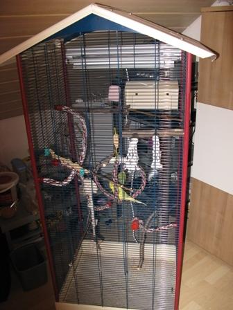 neuer Käfig