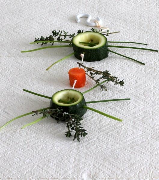 Zucchiniringe-Wellensittich