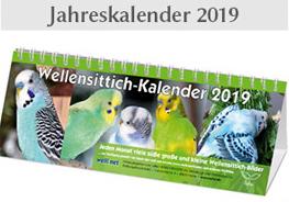 Wellensittich-Kalender 2019 kaufen
