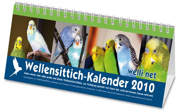 Wellensittich-Kalender 2010