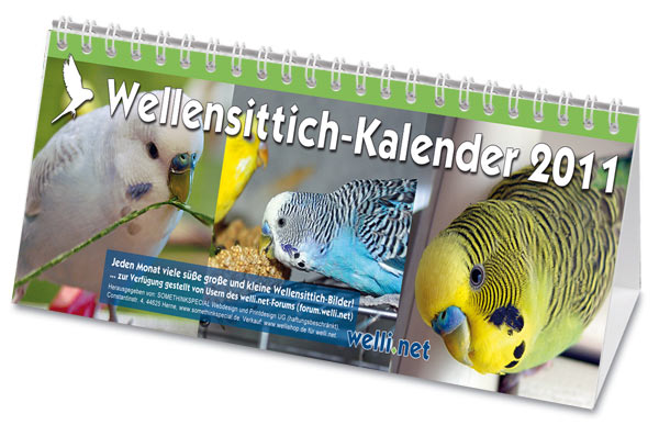 Wellensittich-Kalender 2011