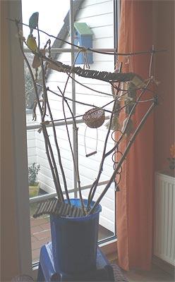 vogelbaum f r wellensittiche basteln wellensittich. Black Bedroom Furniture Sets. Home Design Ideas